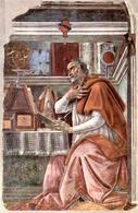 Agostino in un'opera di Sandro Botticelli