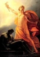 Heinrich Fueges – Prometeo dona il fuoco all'uomo