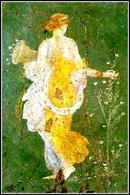 """Natura è concetto storico-culturale, """"Flora"""" affresco di Stabia-Pompei"""