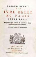 De Iure Belli ac Pacis frontespizio 1631