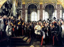 Fondazione della moderna Germania 1871. Fonte: Wikipedia