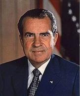 Richard Nixon. Fonte: Wikipedia