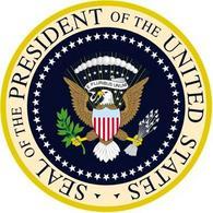 Il sigillo del Presidente degli Stati Uniti d'America. Fonte: Wikipedia
