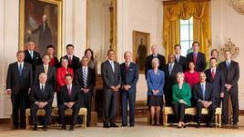 Il Cabinet presidenziale. Fonte: Whitehouse.gov