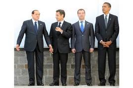 Il presidente Obama al G8 dell'Aquila. Fonte: G8 Italia 2009