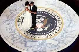 La notte dell'insediamento di Mrs. & Mr. Obama