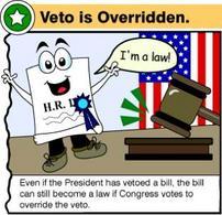Il Congresso supera il veto