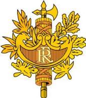 Stemma ufficiale della Repubblica Francese. Fonte: Wikipedia