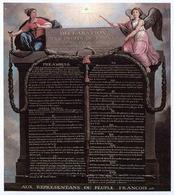 La Dichiarazione dei Diritti dell'Uomo e del Cittadino. Fonte: Wikipedia