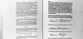 La Grundgesetz del 1949. Fonte: Bundestag.de