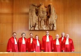 Il Secondo Senate del Bundesverfassungsgericht. Fonte: Bundesverfassungsgericht.de