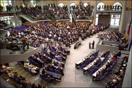 Il Bundestag. Fonte: Wikipedia