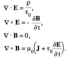 Forma differenziale delle equazioni di Maxwell
