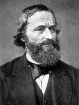 G.R.Kirchhoff (1824 – 1887)