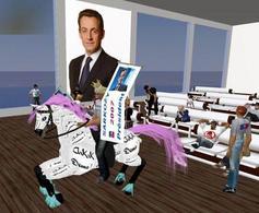 Nicolas Sarkozy su Second Life