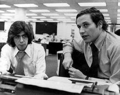 Woodward e Bernstein, i giornalisti del Washington Post che hanno portato alla luce lo scandalo Watergate