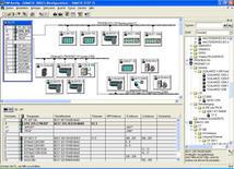 Schermata di SIMATIC Step 7