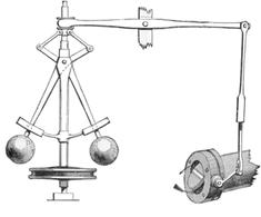 Riproduzione del regolatore di Watt.
