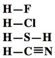 Formule di struttura di idracidi