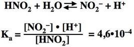 Esempio di reazione acida