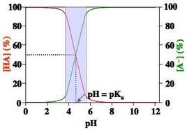 Intervallo di pH utile per il tamponamento