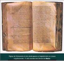 Palinsesto di León; frammento della Lex Romana Visigothorum