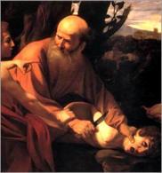Michelangelo Merisi da Caravaggio, Sacrificio di Isacco, 1604