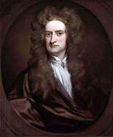 Isaac Newton Fonte: Wikipedia