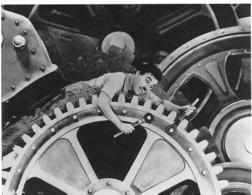 Charlie Chaplin: da Tempi moderni. Fonte: Lablav