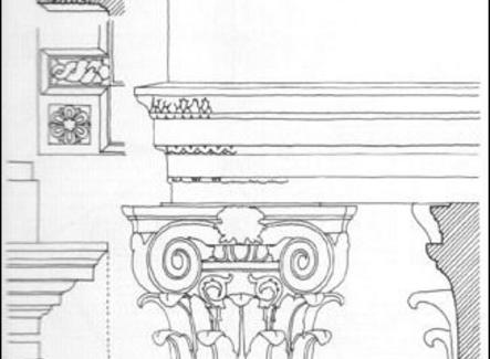 Ordine composito. Arco di Tito a Roma