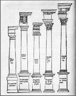 Sebastiano Serlio, I cinque ordini, 1540