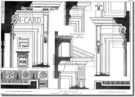 Fonte: P. M. Letarouilly, Edifices de Rome Moderne, Paris, 1840