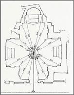 Rilevamento planimetrico della chiesa di S. Eligio degli Orefici, Roma