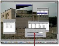 Da RDF si specifica la risoluzione dell'immagine di uscita, quella cioè che conterrà l'immagine radrizzata e si procede col raddrizzamento