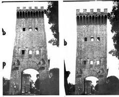 Raddrizzamento e fotomosaico. Fonte: M. Docci, D. Maestri, Manuale di rilevamento architettonico, Roma, 1994