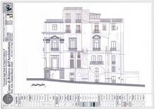 Tavola di analisi del degrado superficiale sulla facciata di un edificio storico