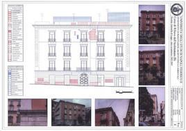 Analisi del degrado ambientale e del degrado di superficie sulla facciata di un edificio storico