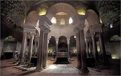 La volta anulare del Mausoleo di Santa Costanza a Roma