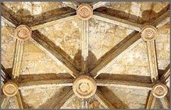 Volta stellare. Cagliari, Chiesa di San Giacomo, presbiterio