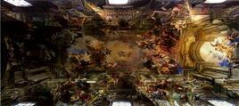 Andrea Pozzo, Il trionfo di S. Ignazio (1685-1691)