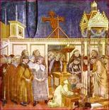 Giotto, Il presepe di Greccio (1290-1295)