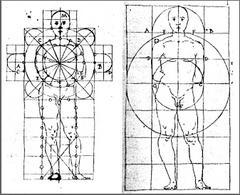 Esempi di pianta composita. Fonte: Francesco Di Giorgio Martini, Trattato di Architettura