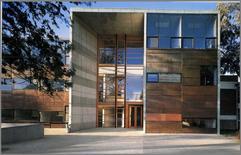 A. Aravena Mori, Università Cattolica del Cile ('99), rivestimento in lamina di rame