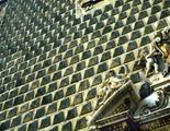 Bugnato a punta di diamante. Chiesa del Gesù Nuovo, Napoli