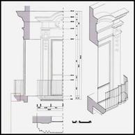 Corso di Rilievo dell'Architettura, a.a. 03-04, Prof. A. di Luggo. Allieve: S. Bagaglia, F. Bucci