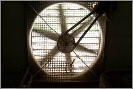 Sistema di ventilazione forzata.
