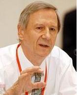 Prof. Anthony Giddens, former director of LSE.