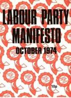 Front Cover of the Labour Party 
