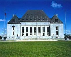 Façade de la Cour Suprême Canadienne