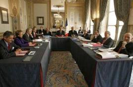 Les neuf sages du Conseil constitutionnel